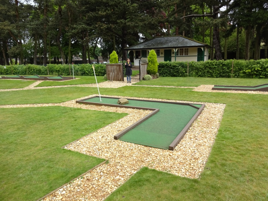 The Ham and Egger Files: Eaton Park Crazy Golf in Norwich