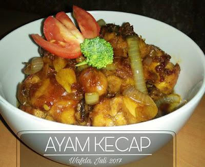 Resep Ayam Kecap Manis Ala Rumahan By @dapurwafda