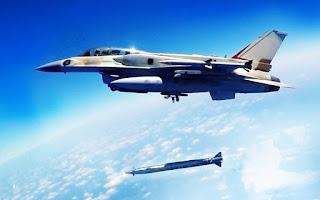 F-16 Israel Dengan Rudal Rampage
