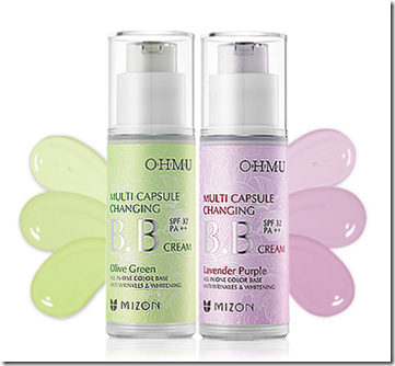 Mizon OHMU Multi Capsule Changing BB Cream