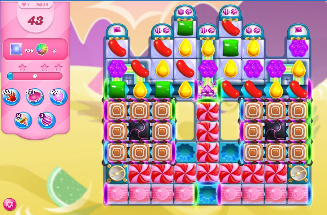 Candy Crush Saga level 9042