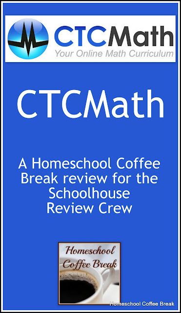 CTCMath - A Schoolhouse Crew Review on Homeschool Coffee Break @ kympossibleblog.blogspot.com