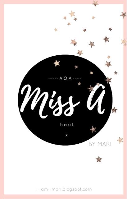 AOA Haul | Miss A | Part I & II