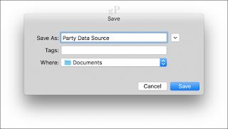 source data name