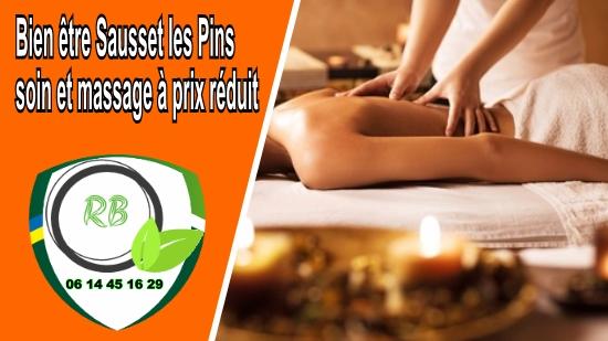 Bien être Sausset les Pins : soin et massage à prix réduit;