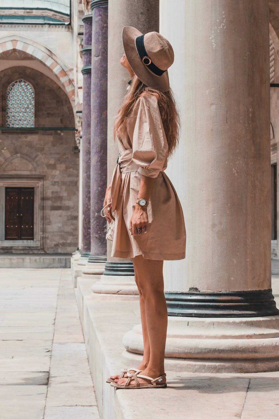 vestido exploradora