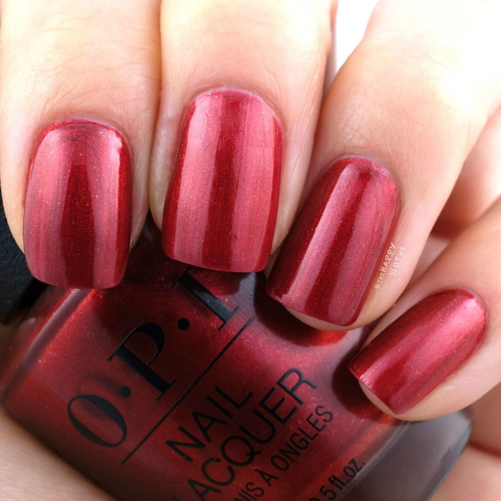 OPI | Fall 2019 Scotland Collection | A Little Guilt Under the Kilt: Review and Swatches