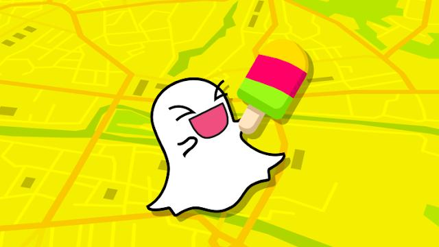 سناب شات تطلق ميزة جديدة لمشاركة المواقع Snap Map