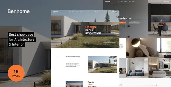 Best Architecture & Interior HTML Template