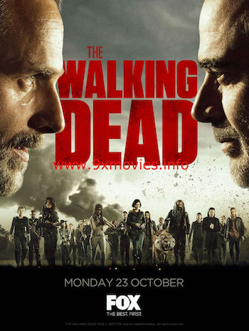 The Walking Dead S08E08 English 720p  WEB-DL 500MB ESubs