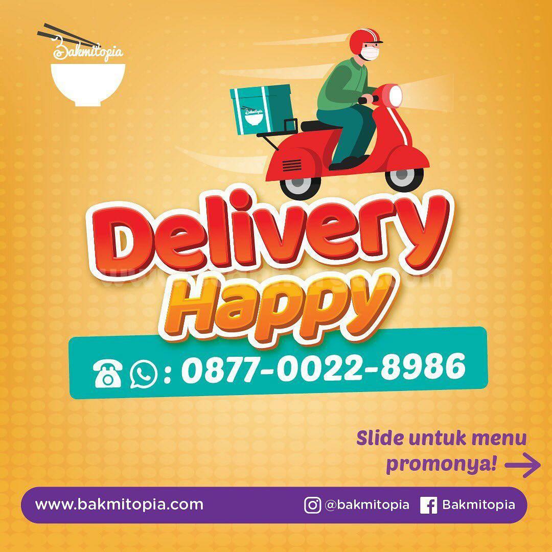 Promo Bakmitopia Delivery Happy! Harga Paket Spesial mulai Rp 49.000