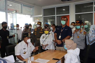 Jelang Hari Raya, Gubernur Lampung Tinjau Terminal Rajabasa Dan Bandara Radin Inten II