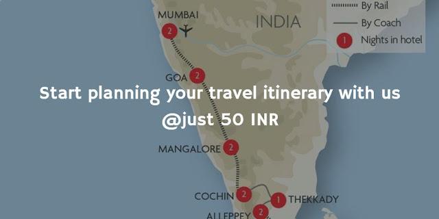 Plan travel itinerary with travelvigo