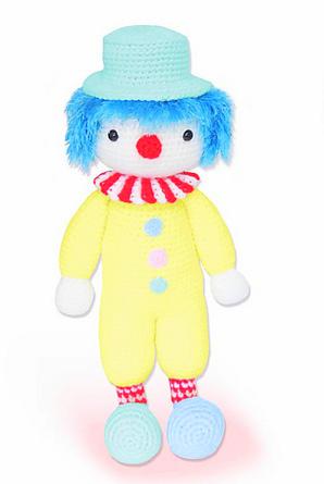 it Pennywise clown amigurumi crochet uncinetto SUB - ESP- ENG ... | 445x298