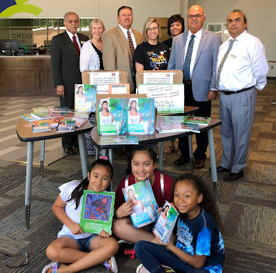 Mexican government donates Spanish language textbooks to Hope Public Schools