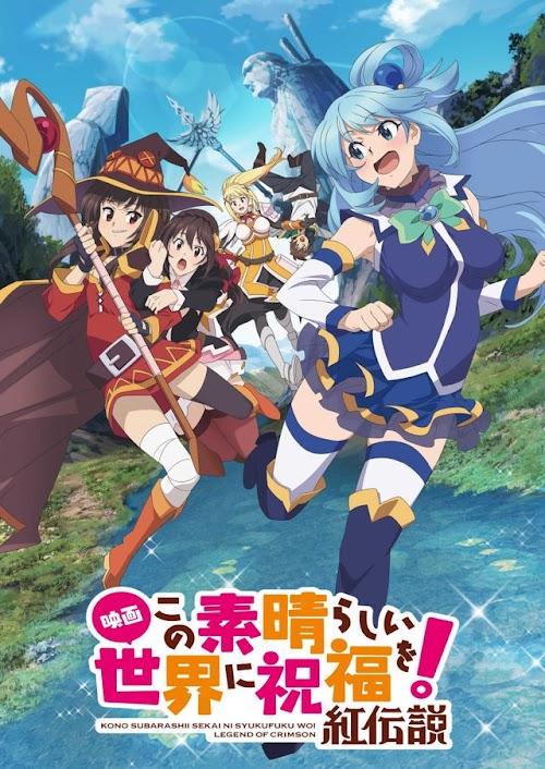 Descargar Kono Subarashii Sekai ni Shukufuku wo!: Kurenai Densetsu [Pelicula][Sub Español][MEGA] HDL]
