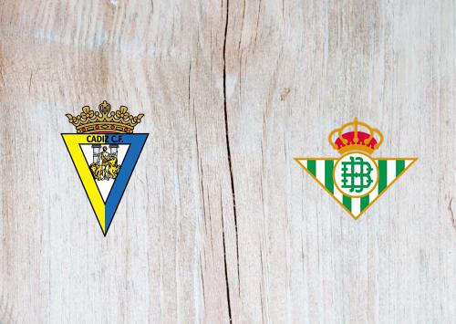 Cádiz vs Real Betis -Highlights 28 February 2021