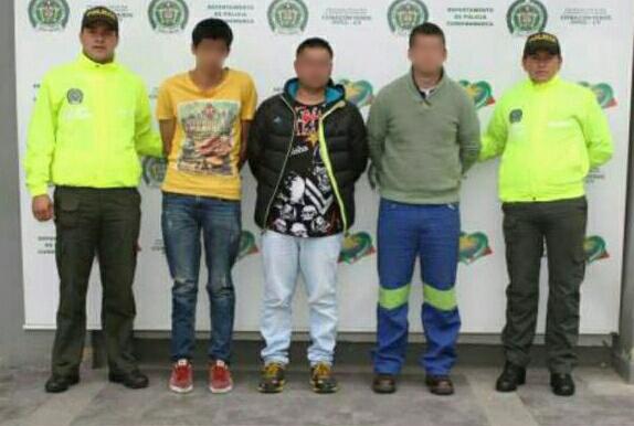 Capturada la banda de ladrones que operaba en Chía