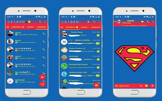 Super Man Theme For YOWhatsApp & Fouad WhatsApp By Leidiane