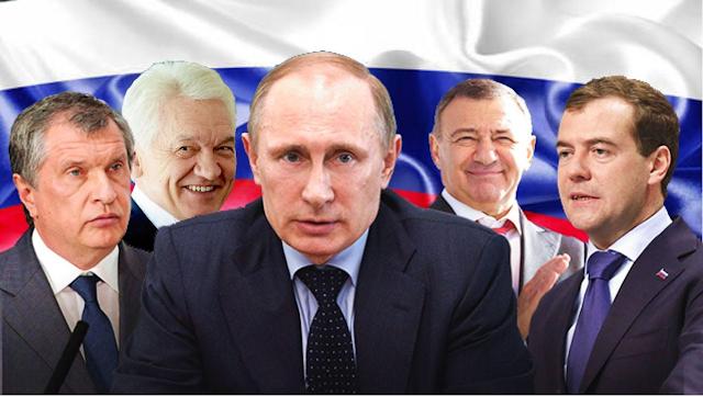 Россия – Акционерное Общество, управляемое президентом путиным и его друзьями