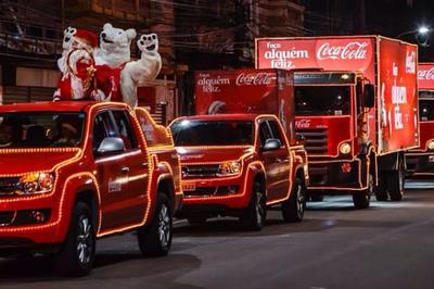 Depois da capital, Caravana de Natal da Coca-Cola vai a Campina Grande