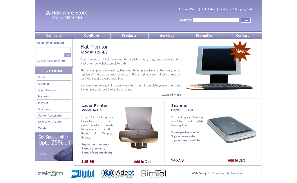 Free download top best mobile company website templates for Mobile site template free download