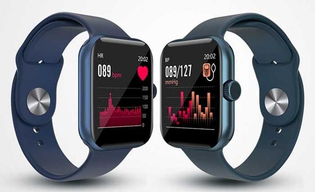 LEMFO Z1: smartwatch con pantalla IPS de 1.54'', 3 ediciones de color y monitor de ritmo cardíaco 24/7