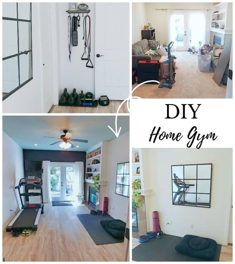 DIY Home Gym Reveal