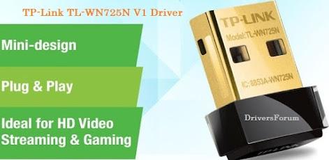 TP-Link TL-WN725N V1 Driver