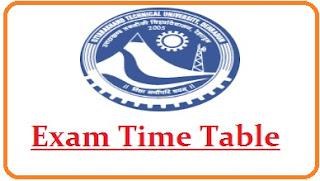 Uttarakhand Technical University Exam Date 2021