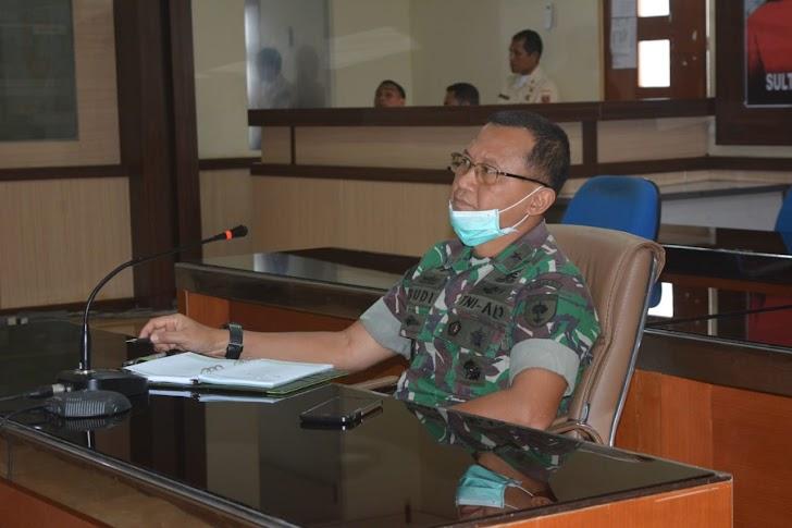 Kasdam Hasanuddin Apresiasi Langkah Pemprov Sulsel Antisipasi Penyebaran Virus Covid -19
