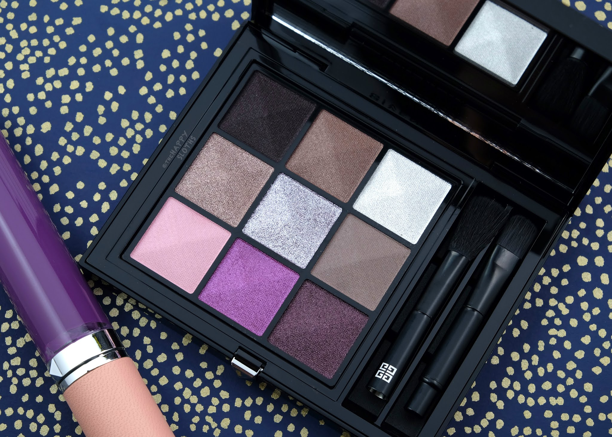 "Givenchy | Le 9 De Givenchy Eyeshadow Palette in ""Le 9.03"": Review and Swatches"