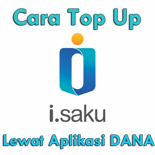 cara top up iSaku lewat aplikasi DANA