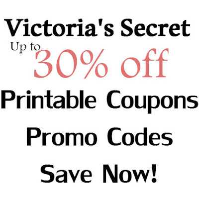 Victoria's Secret Printable Coupon February, March, April, May, June, July 2016