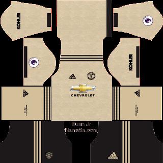 Kit DLS Manchester United 2019