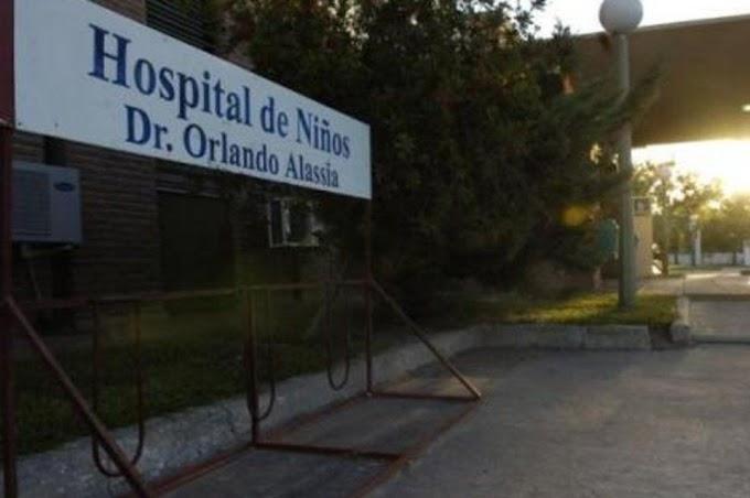Les hallaron cocaína en el organismo a dos nenes en el hospital de niños Alassia