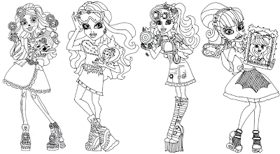new monster high dolls 2014 coloring pages: Monster High