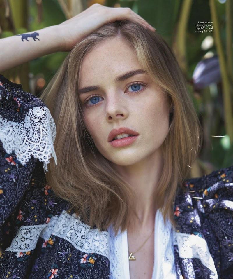 Samara Weaving Featured in Vogue Magazine - Australia September 2020