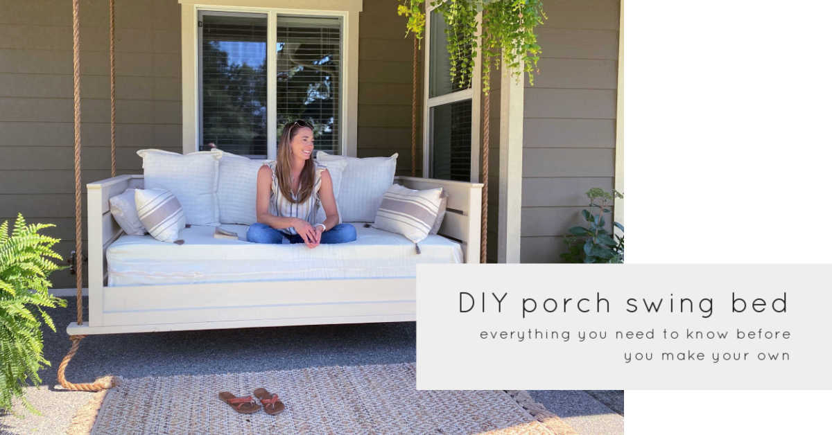 diy porch swing bed everything you need to know
