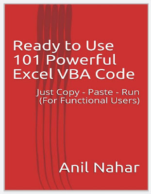 [Free ebook]Ready to Use 101 Powerful Excel VBA Code 2020 (For Functional Users) by Anil Nahar