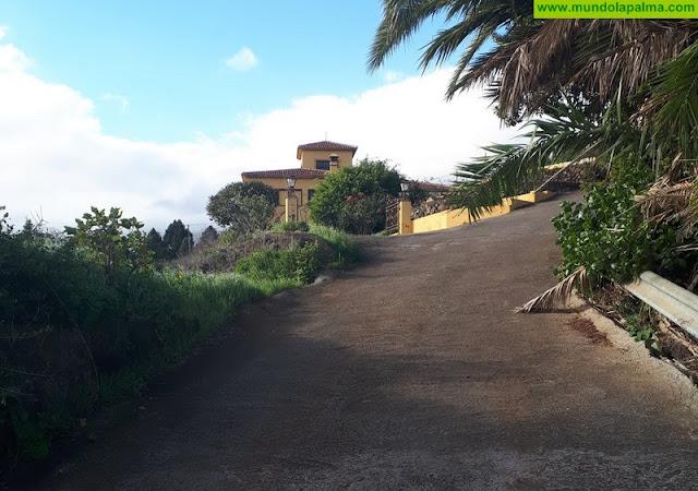 El Ayuntamiento invertirá 35.000 euros en el arreglo de la pista del barranco de El Espino
