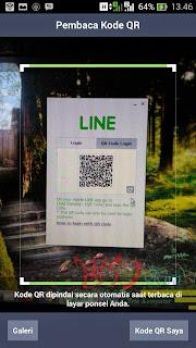 Scan QR Code Line 2014 wd-kira