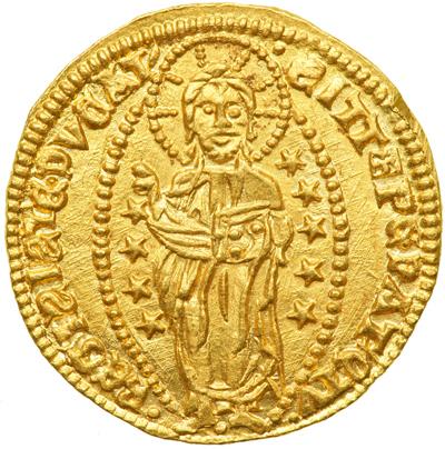 Ducat of Andrea Dandolo c. 1354 - reverse