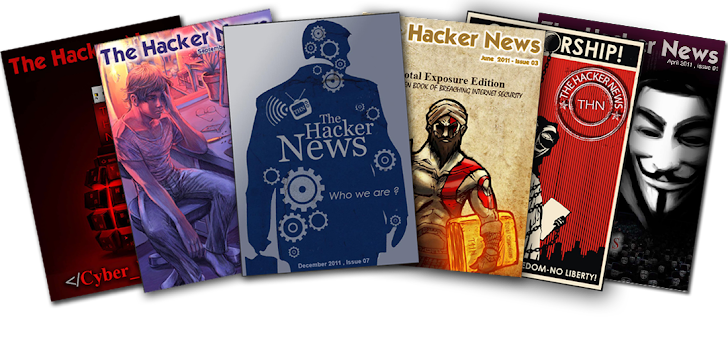 'The Hacker News' Magazine - Relaunching New Editions