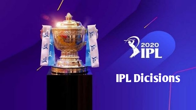 IPL 2020: 10 Major Decisions by IPL 2020 Governing Council for IPL 2020