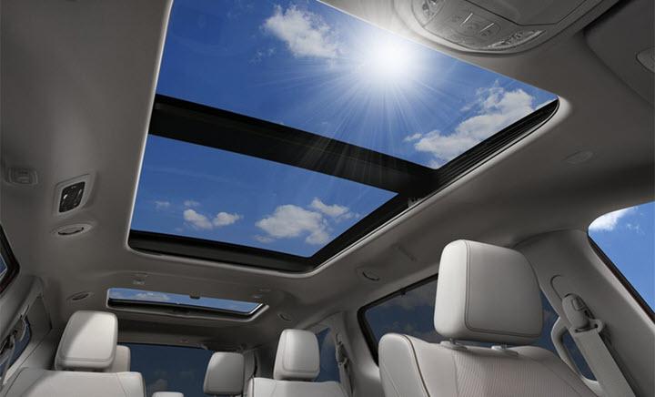 Những mẫu xe có cửa sổ trời chiếm gần hết nóc