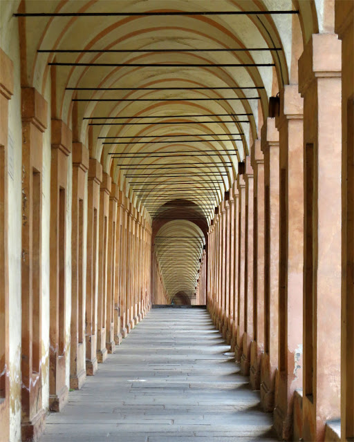 A section of the 3.8 km long Portico di San Luca, Sanctuary of the Madonna di San Luca, Bologna