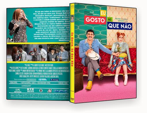 CAPA DVD – Eu Gosto, Só Que Não 2018 – ISO