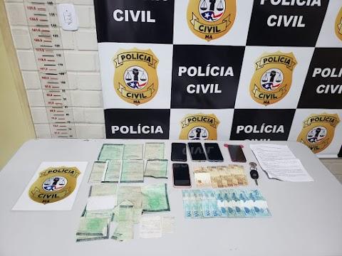 Operação interestadual da Polícia Civil prende criminosos em Pedreiras