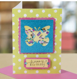 How to Create a Butterfly Card Free Project